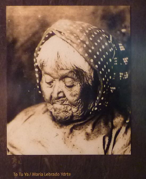 To Tu Ya, the last survivor of the 1851 massacre. She witnessed the murder of her uncle when she was a child and finally broke silence publicly when she returned to Yosemite in 1920.